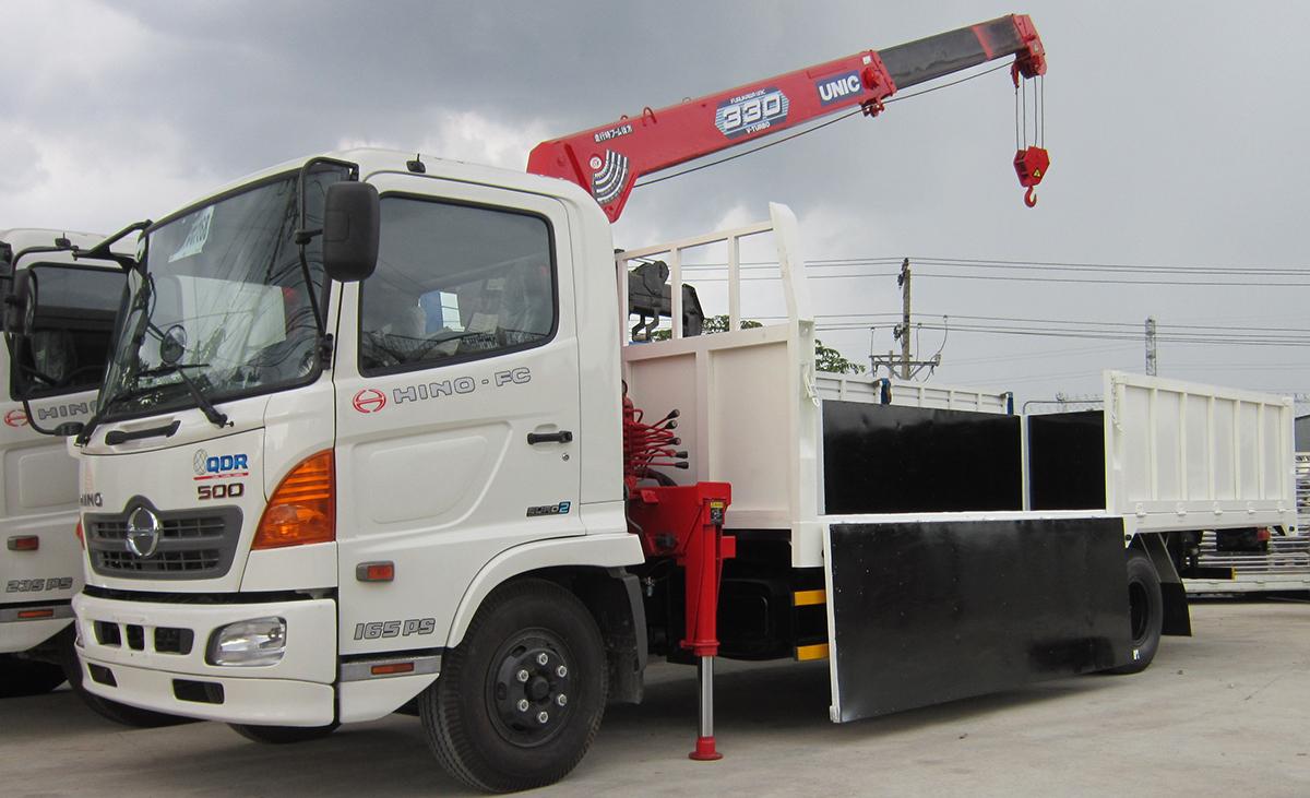 Dịch vụ cho thuê xe cẩu giá rẻ tại Thuận An Bình Dương