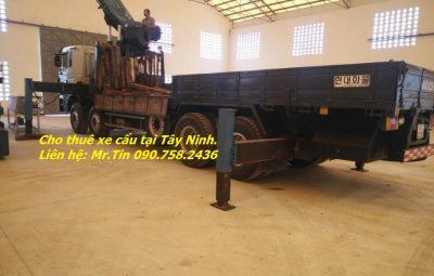 Cong ty cho thue xe cau tai Tay Ninh gia re